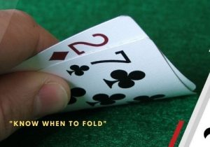 know when to fold